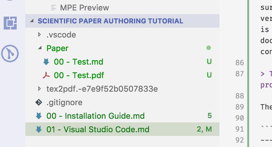 Part II: Visual Studio Code